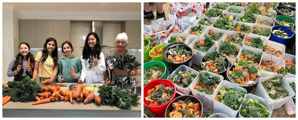 Αυστραλοί εθελοντές μαζεύουν φαγητά και πηγαίνουν να τα δώσουν στα ζώα που ζουν στις καμένες περιοχές