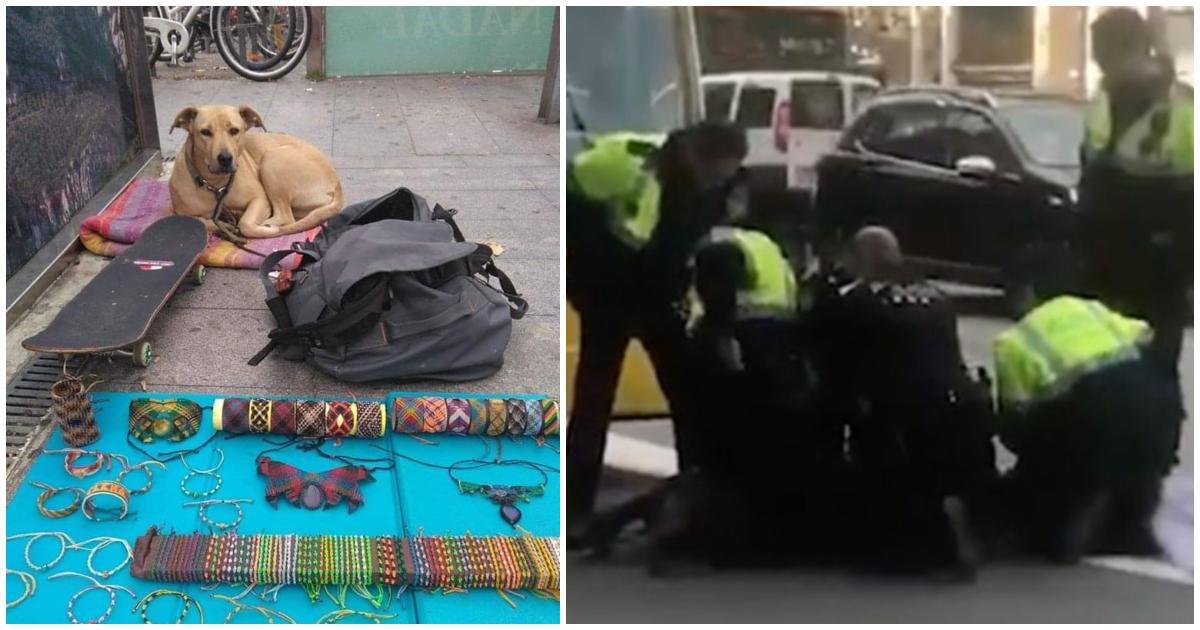 Φρίκη: Αστυνομικοί σκότωσαν τον σκύλο ενός άστεγου και μετά τον συνέλαβαν