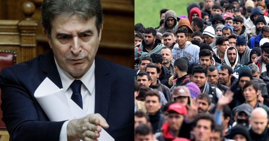 """""""Κάθετος"""" ο Χρυσοχοΐδης: «Όποιος αλλοδαπός παρανομεί θα κρατείται και θα φεύγει από την Ελλάδα»"""