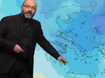 Καιρός: Καρέ – καρέ η εξέλιξη των καιρικών συνθηκών. Τι λέει ο Σάκης Αρναούτογλου (video)