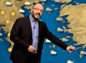 Καιρός: «Θερμή εισβολή την επόμενη εβδομάδα». Το δελτίο καιρού του Σάκη Αρναούτογλου
