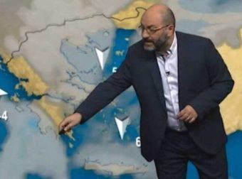 Καιρός: Βροχές και καταιγίδες την Τετάρτη, άστατος μέχρι την Κυριακή. Ανάλυση Αρναούτογλου (vid)