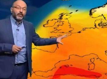 Καιρός: Διπλή θερμή εισβολή την ερχόμενη εβδομάδα. Η προειδοποίηση του Σάκη Αρναούτογλου (vid)
