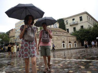 Έκτακτο δελτίο επιδείνωσης καιρού: Έρχονται βροχές, καταιγίδες, χαλάζι και πτώση θερμοκρασίας