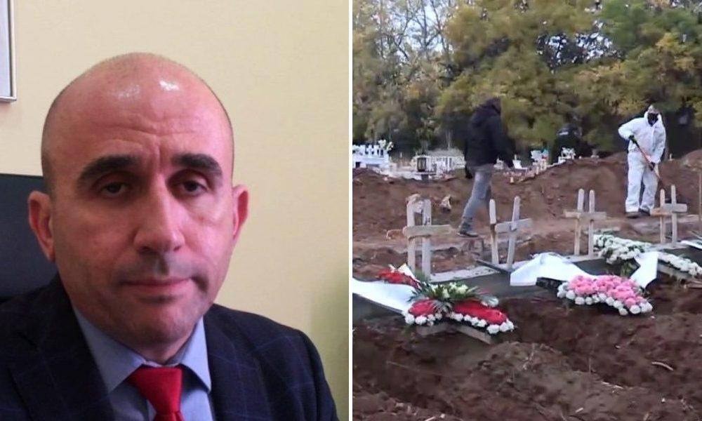 Ιατροδικαστής Γρηγόρης Λέων: «Η μετάδοση του κορωνοϊού γίνεται και μετά τον θάνατο»