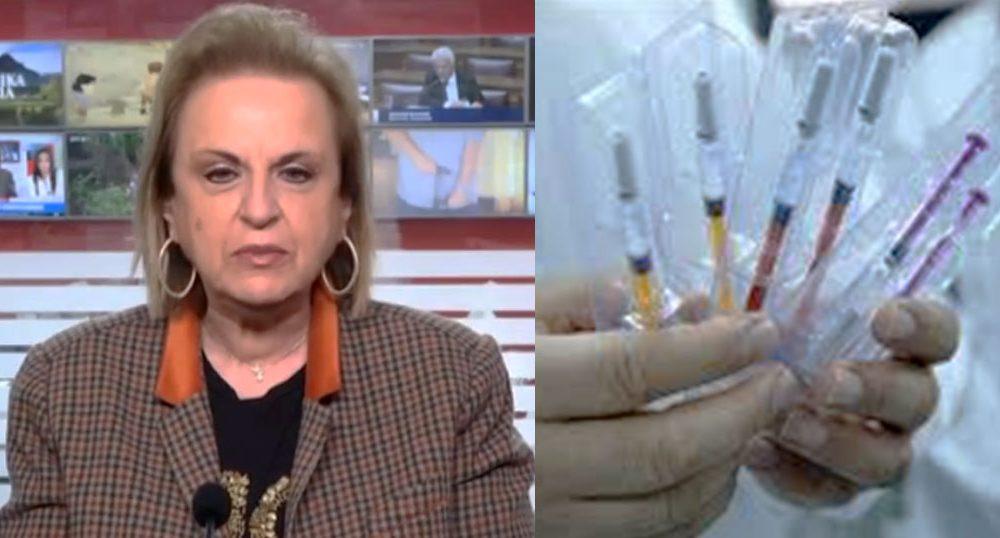 Παγώνη: «Πρέπει όλοι να το κάνουμε το εμβόλιο για τον κορωνοϊό, είναι ασφαλές»