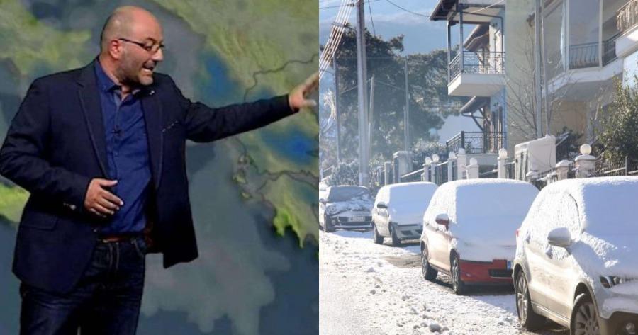 Καιρός Προειδοποίηση Αρναούτολου: Που και πότε θα χιονίσει σε Αθήνα και Θεσσαλονίκη