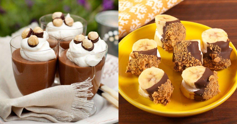 15 γλυκά που δεν παχαίνουν και μπορείτε να τρώτε χωρίς τύψεις