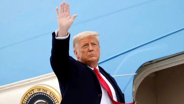 Τραμπ: H αποχαιρετιστήρια ομιλία του – «Θα επιστρέψω…»  υποσχέθηκε στους οπαδούς του