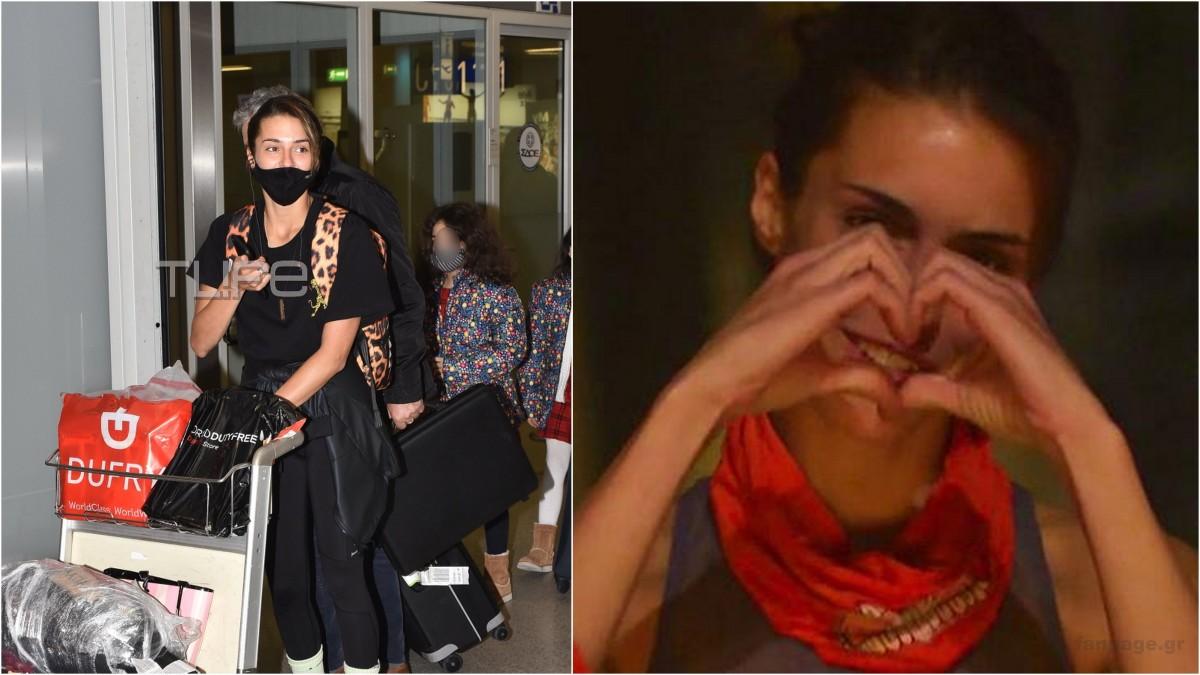 Κάτια Ταραμπάνκο: Έφτασε στην Ελλάδα μετά την αποχώρησή της από το Survivor