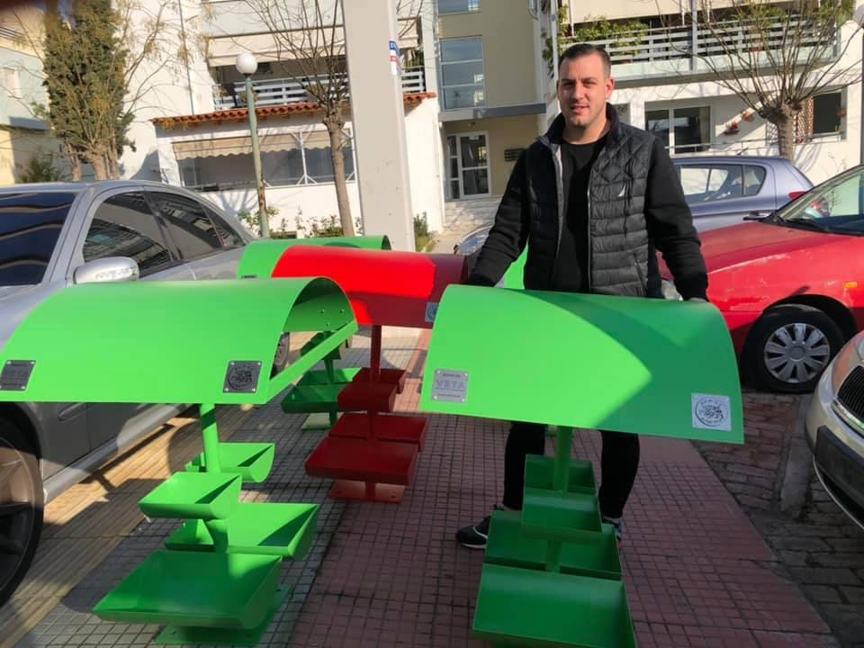 Ο δήμος Αχαρνών έβαλε ποτίστρες για τα αδέσποτα στο Ολυμπιακό Χωριό