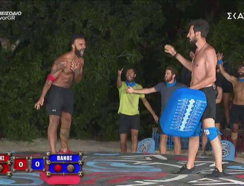 Survivor 4: Έπαιξαν πραγματικό ξύλο Κονδυλάτος και Καλίδης στο χθεσινό αγώνισμα – Όσα κόπηκαν