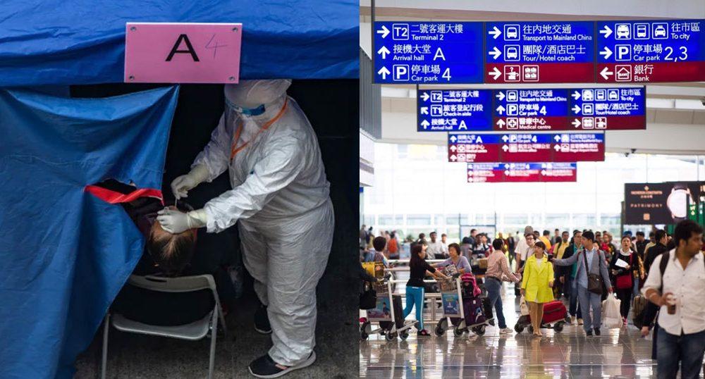 Κίνα: Πpωκτικό τεστ για τον κορωνοϊό στους ταξιδιώτες από το εξωτερικό