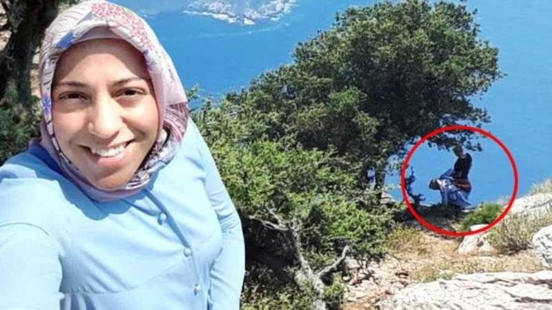 Άγριο έγκλημα: Bίντεο που δείχνει τον Τούρκο Αϊσάλ να σπρώχνει την έγκυο γυναίκα του στον γκρεμό