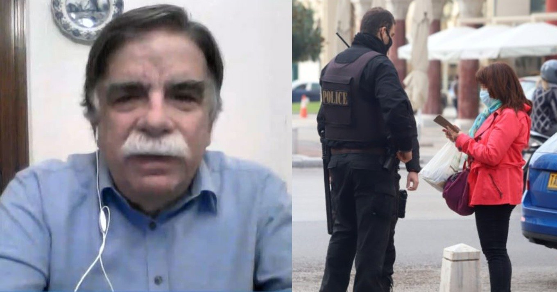 Αλκιβιάδης Βατόπουλος: Πιθανό το ενδεχόμενο νέων μέτρων εκτός από την παράταση του Lockdown