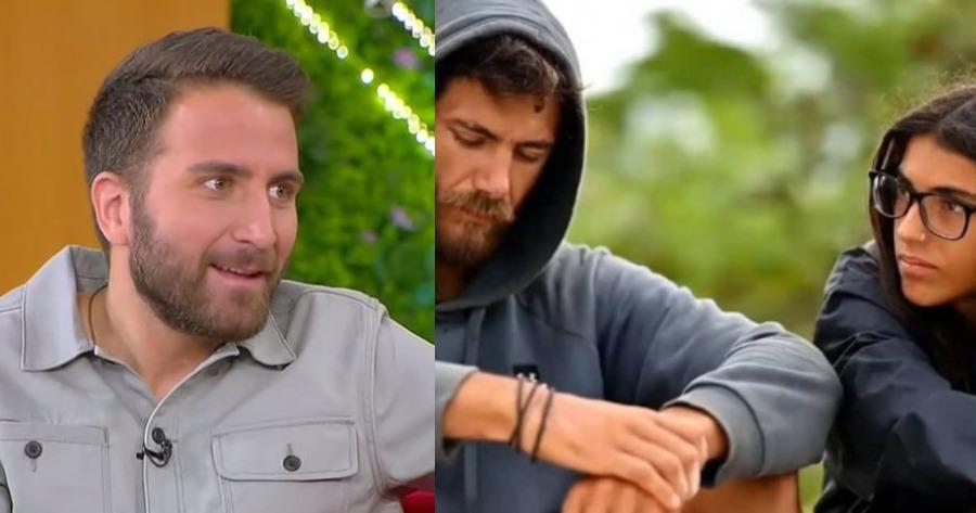 "Survivor: Ο Μακρόπουλος ""έδωσε"" τι συμβαίνει ανάμεσα σε Βέλλη και Μπάρτζη"