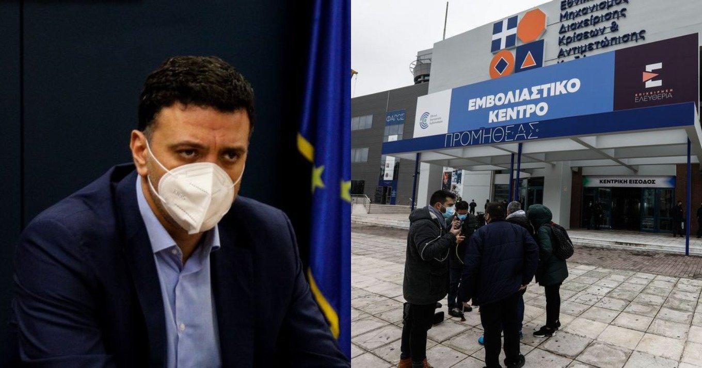 Κικίλιας: «Ξεπεράσαμε τους 850.000 εμβολιασμούς – Είμαστε τρίτοι στην Ευρώπη»