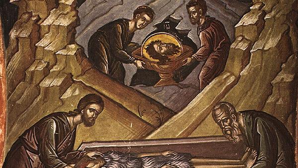 Α' και Β' Εύρεση Τιμίας κεφαλής του Αγίου Προφήτου, προδρόμου και βαπτιστού Ιωάννη