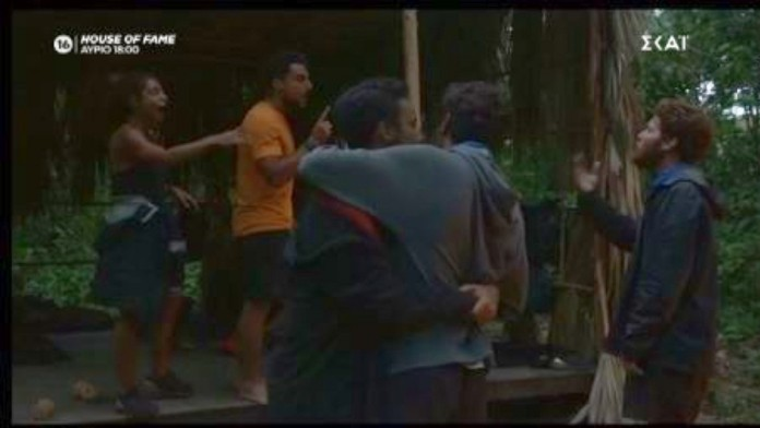 Survivor 4: Μαριαλένα σε Τζέιμς και Νίκο – «Ντροπή σας! Δεν είστε άντρες!» – Survivor