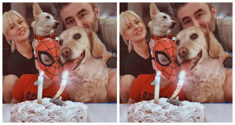 Γιώργος Μαυρίδης: Γιόρτασε τα 14α γενέθλια της Μόλυς- Οικογενειακές πόζες μπροστά στην τούρταv