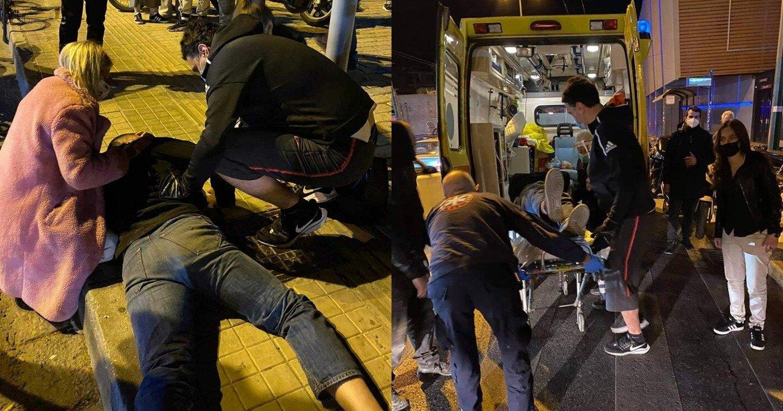 Κικίλιας: Βρέθηκε τυχαία μπροστά σε τροχαίο ατύχημα στο Γκάζι – Η σημαντική βοήθεια που προσέφερε