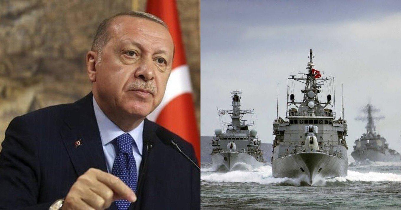 Παραληρεί ο Ερντογάν: «Αν χρειαστεί να επέμβουμε στην Κύπρο τα πλοία μας είναι έτοιμα»