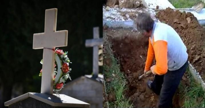Καβάλα: Άνοιξαν τον τάφο στα εννιάμερα και αντί για τον μακαρίτη, βρήκαν άχυρα