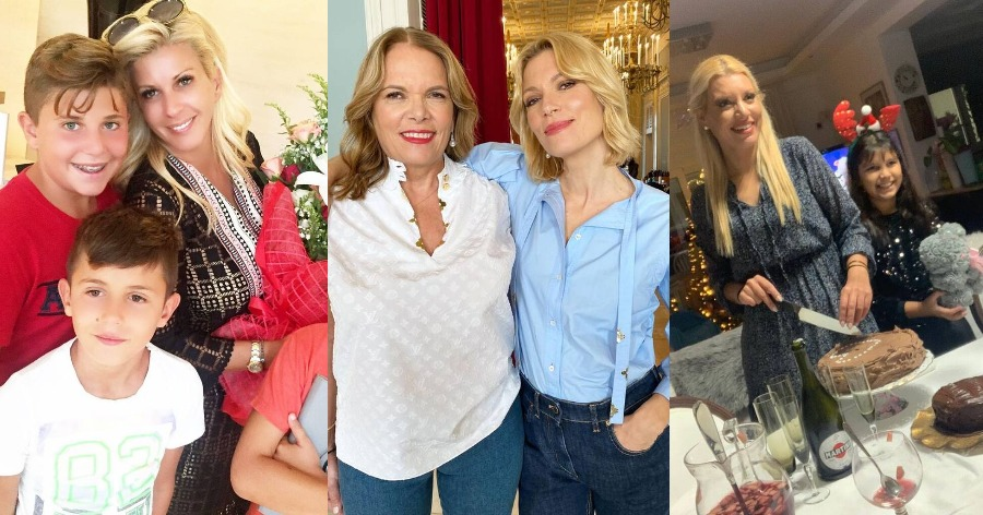 Γιορτή της Μητέρας: Έτσι ευχήθηκαν χρόνια πολλά οι διάσημες Ελληνίδες μαμάδες [εικόνες]