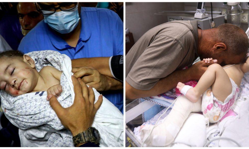 Γάζα: Μωρό ανασύρθηκε ζωντανό από τα ερείπια μετά από βομβαρδισμό