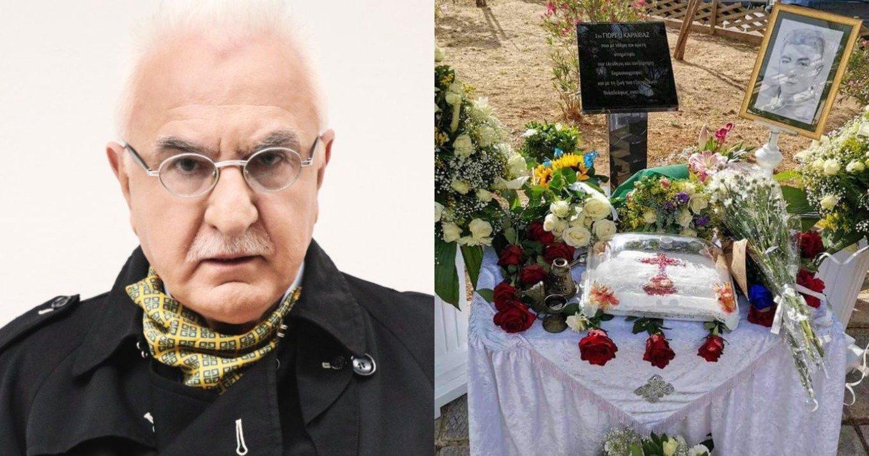 Γιώργος Τσούκαλης: «Σαράντα μέρες ο Γιώργος Καραϊβάζ κάνει ρεπορτάζ στο πάρκο των Αγγέλων»
