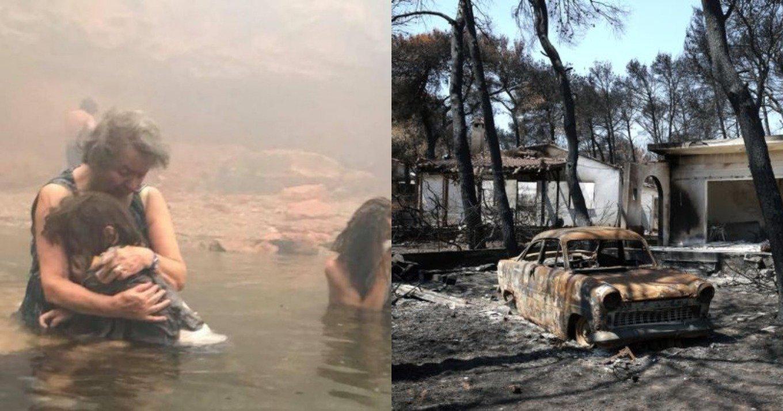 Πόρισμα – κόλαφος για την τραγωδία στο Μάτι: «Παρακολουθούσαν αμέτοχοι τη φωτιά»