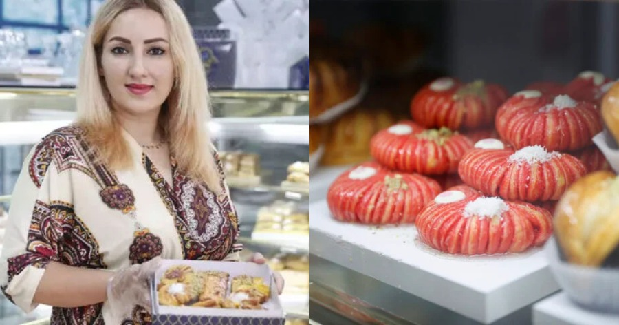 Αφγανή πρόσφυγας «κερνάει» ιρανικά γλυκά και παγωτό σαφράν στο δικό της ζαχαροπλαστείο!